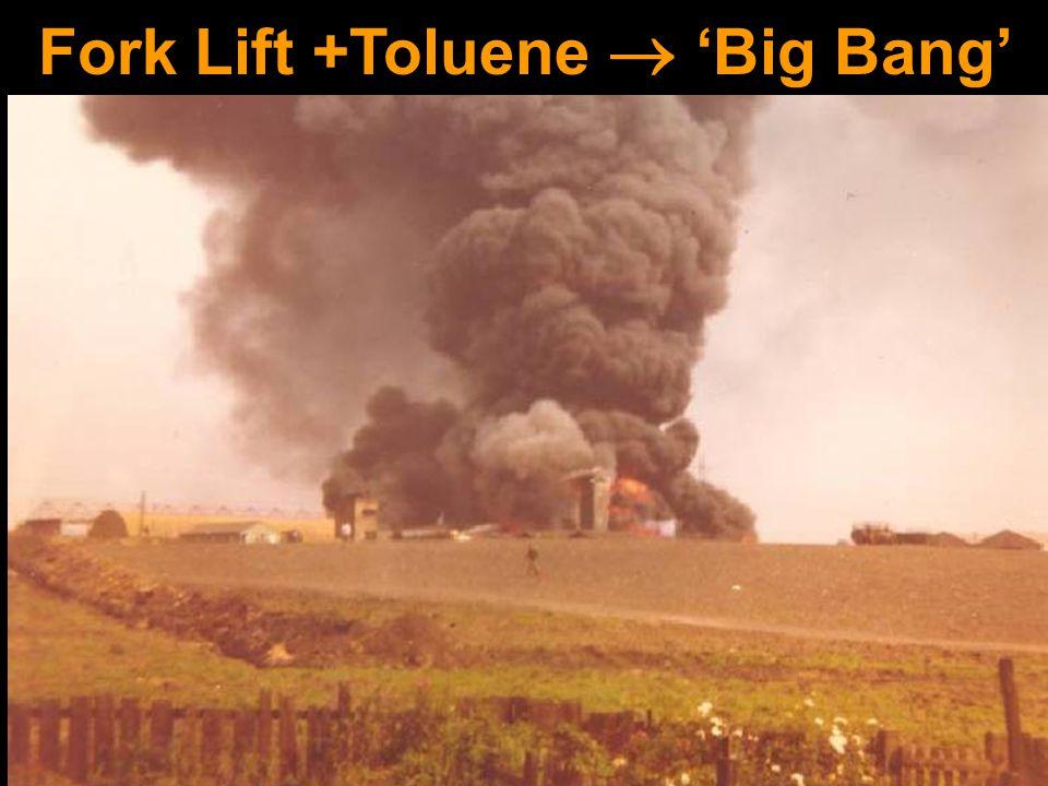 Fork Lift +Toluene  'Big Bang'