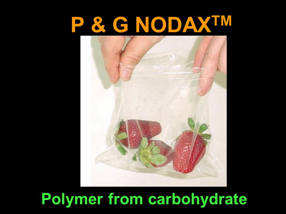 P & G NODAX TM Polymer from carbohydrate