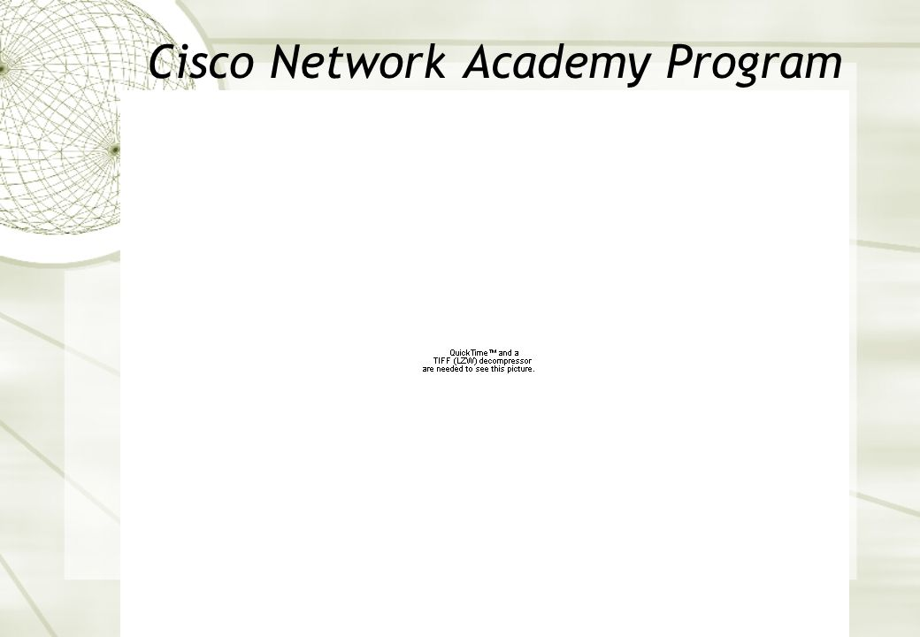 Cisco Network Academy Program