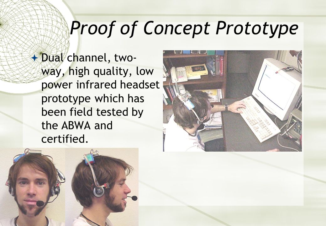 A Secure Dual Channel Wireless Headset for Multi-user Environments  Funded by Dept. of Training  Science & Technology Grant  Joint Project  Associ
