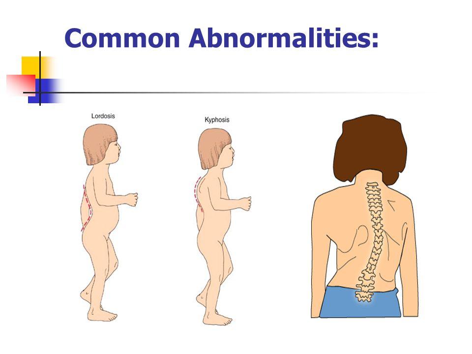 Common Abnormalities: