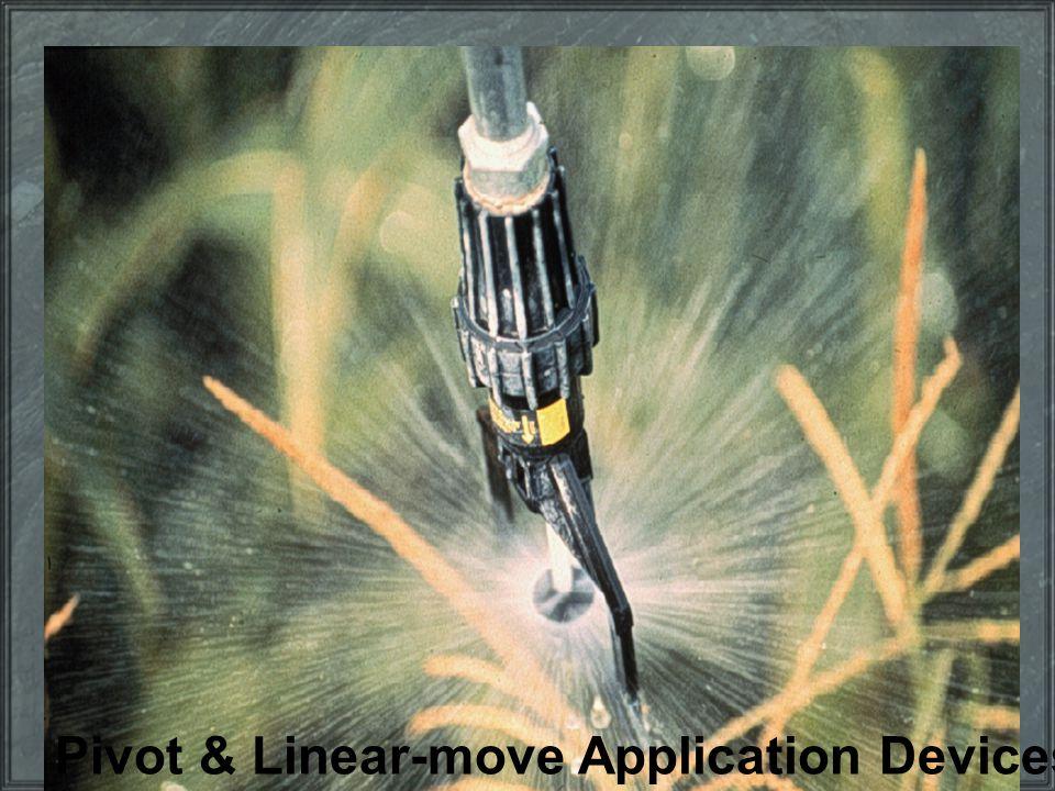 Pivot & Linear-move Application Devices