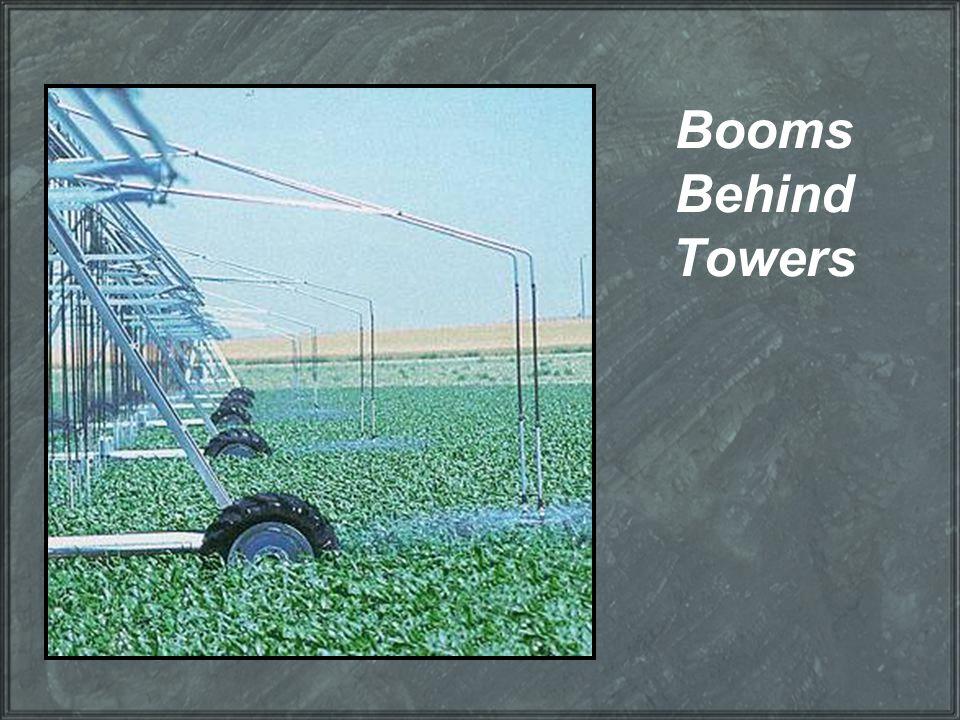 Booms Behind Towers