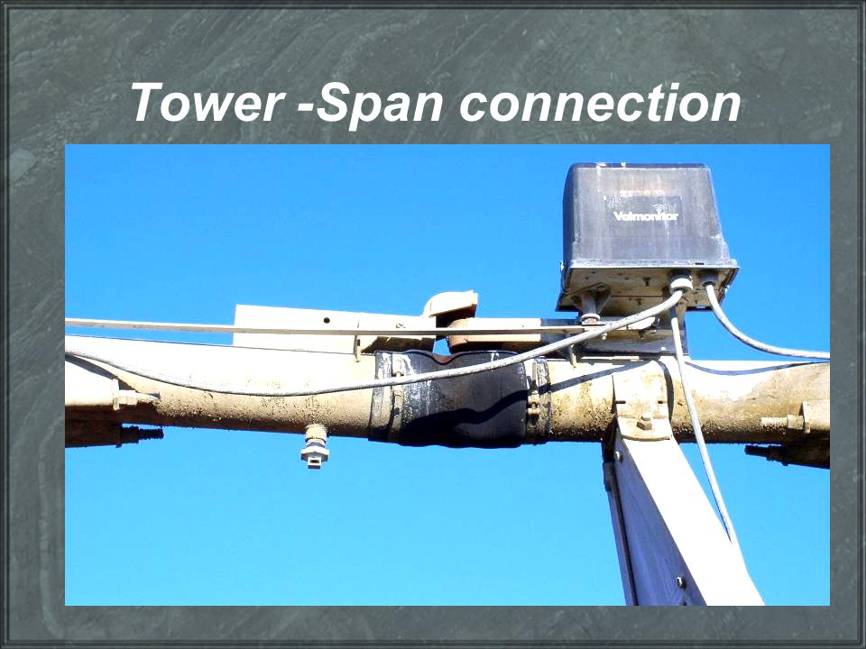 Tower -Span connection