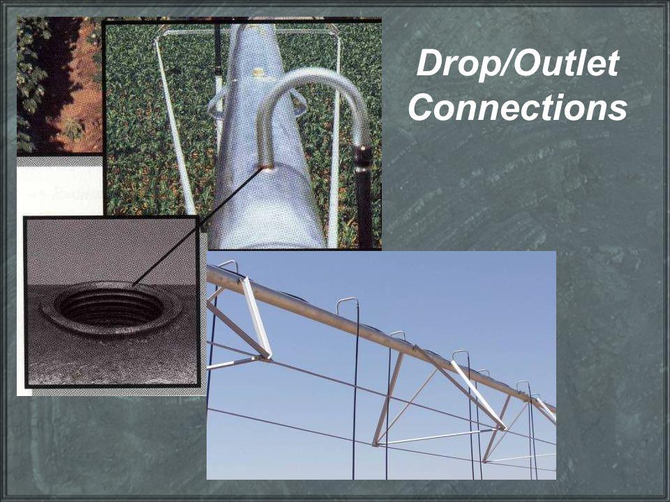 Drop/Outlet Connections