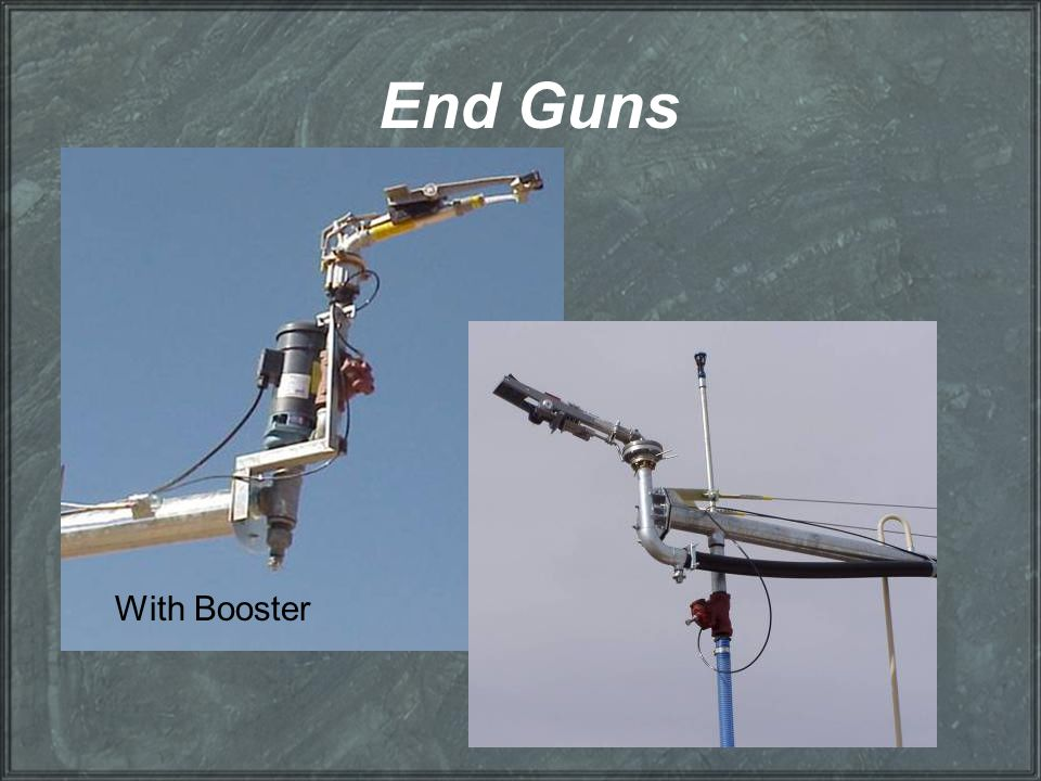 End Guns With Booster