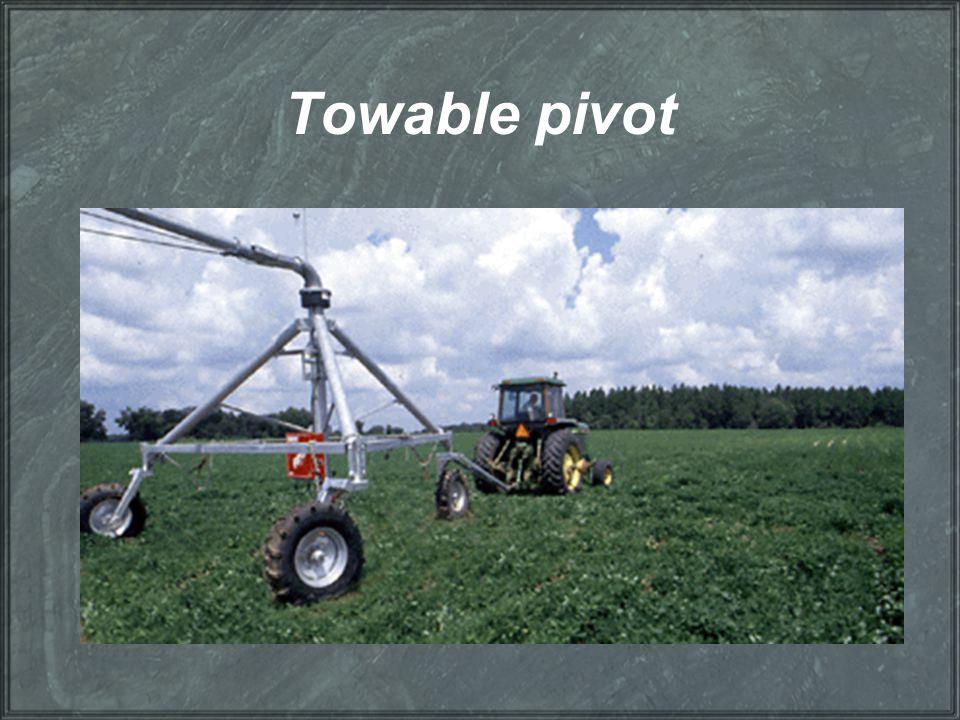 Towable pivot