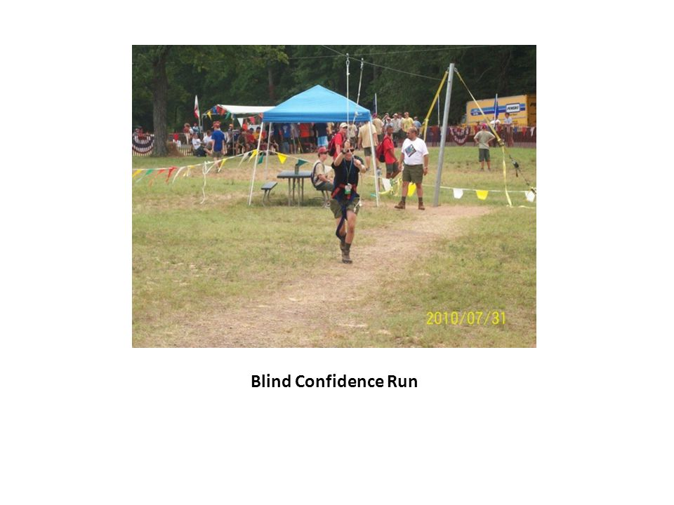 Blind Confidence Run