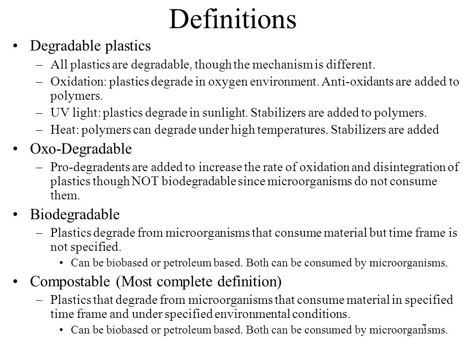48 Conclusions Compostable materials degrade under commercial compost environments.