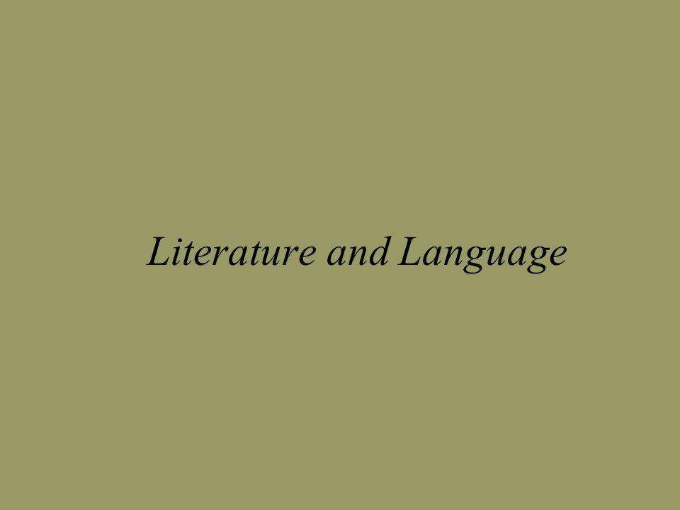 Literature and Language