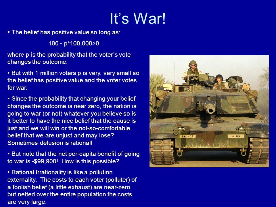 It's War.