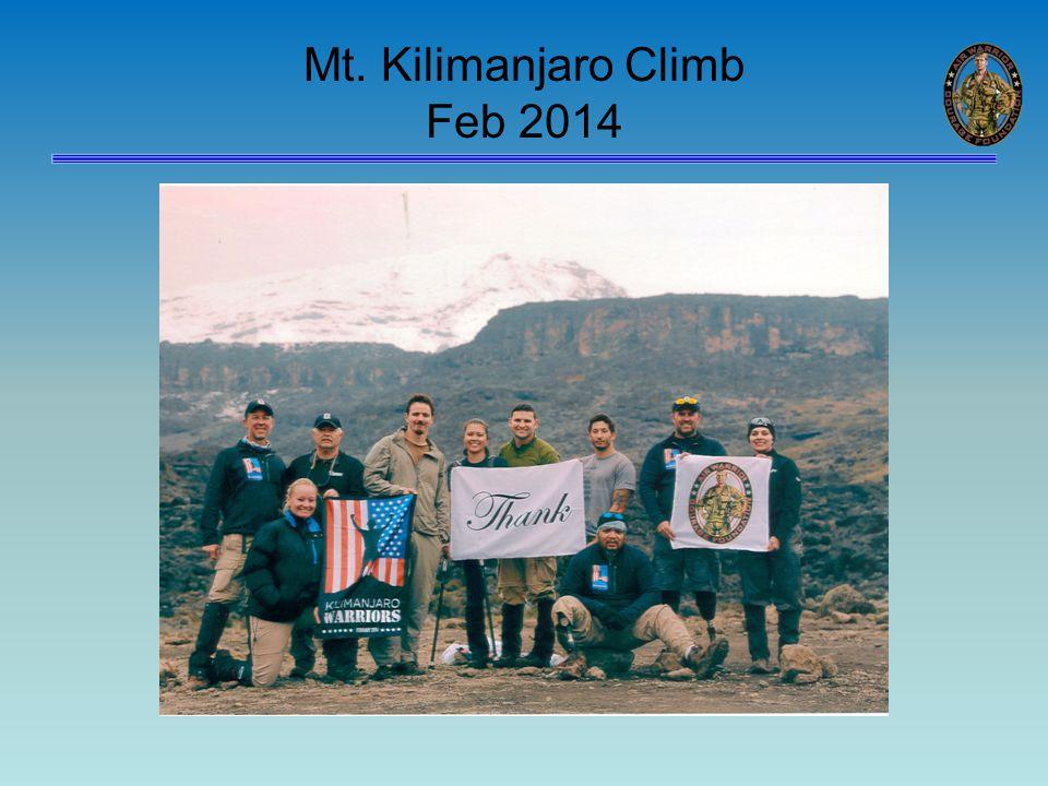 Mt. Kilimanjaro Climb Feb 2014