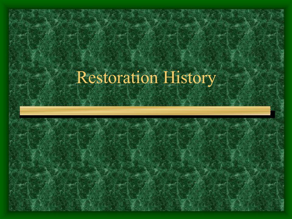 Restoration History