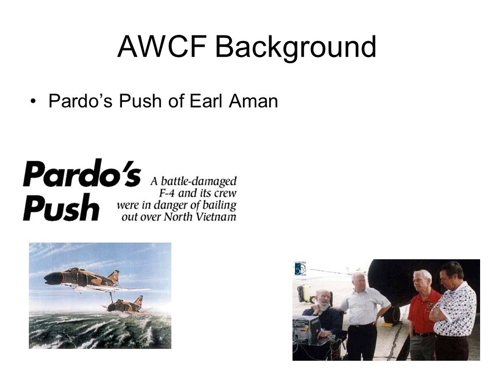 AWCF Background Pardo's Push of Earl Aman