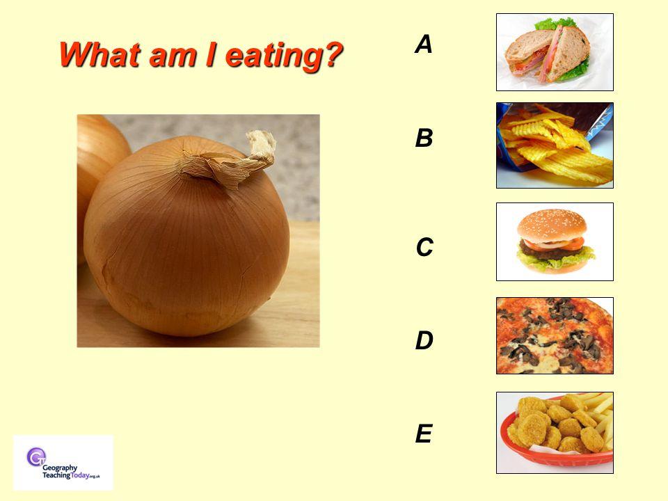 What am I eating AB C D EAB C D E