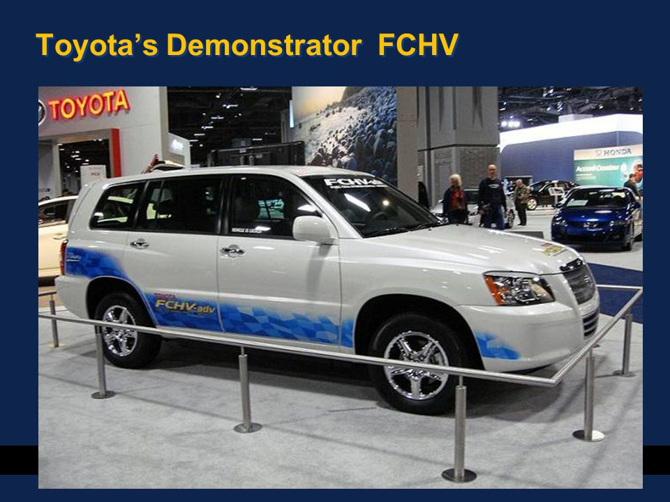 42 Toyota's Demonstrator FCHV