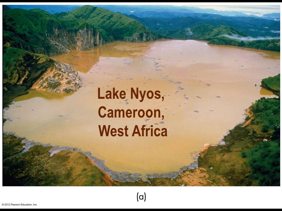 Lake Nyos, Cameroon, West Africa