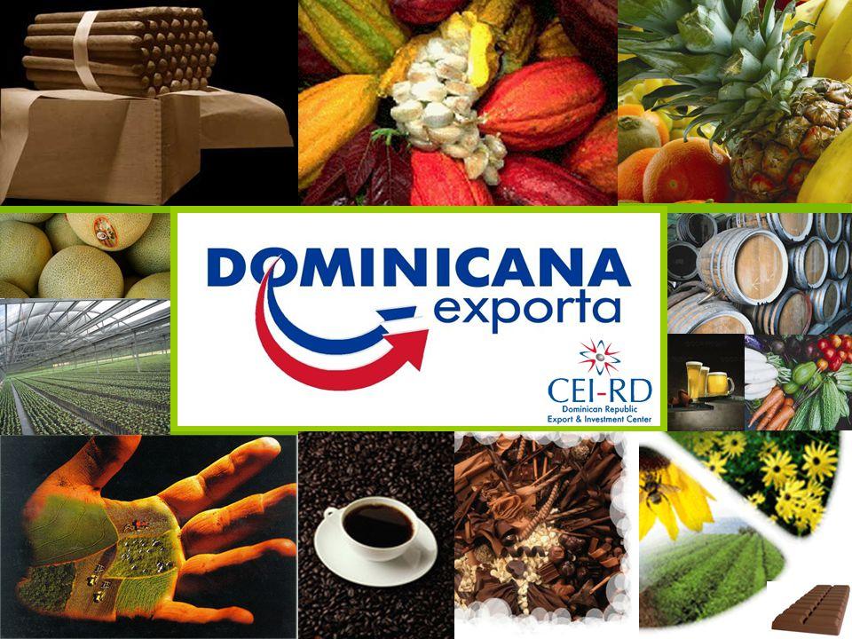 DR at a Glance La Gerencia de Dominicana Exporta cuenta con 3 Divisiones especializadas: New Business/ Desarrollo de Nuevos Negocios After Care/ Desarrollo de la Oferta Exportable Market Intelligence/ Inteligencia de Mercado