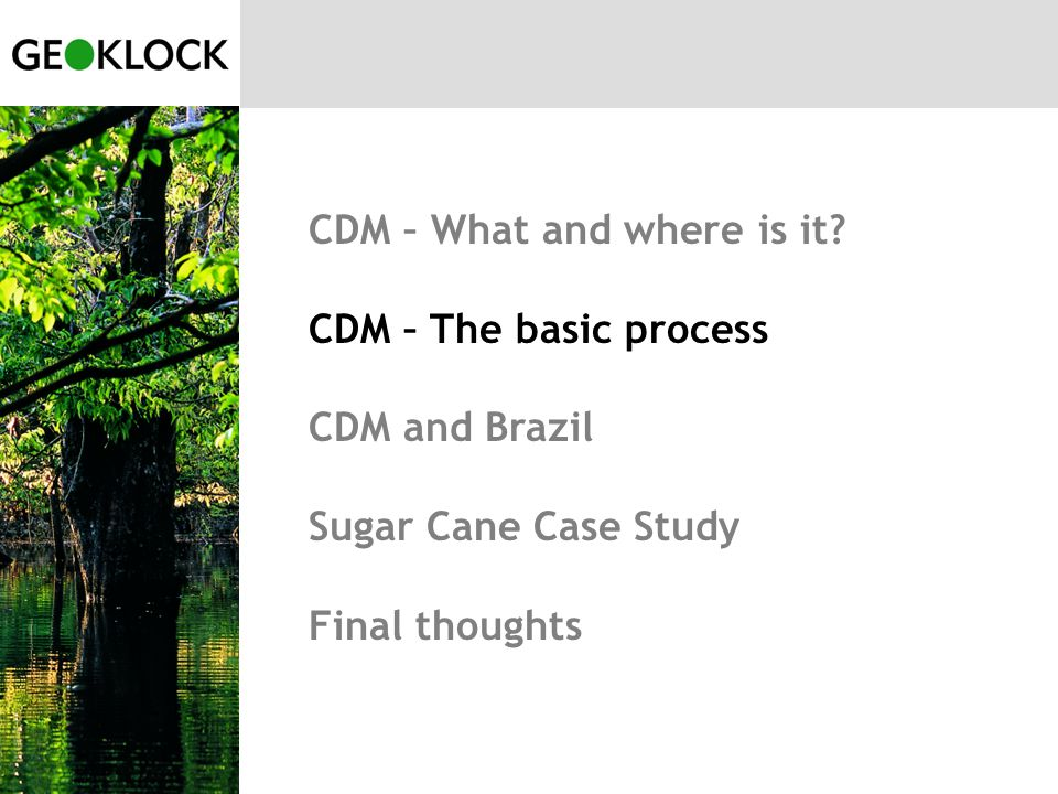 CDM – What and where is it.