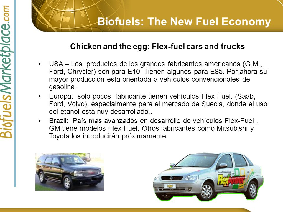 Biofuels: The New Fuel Economy Ethanol: US Demand-Supply Projections