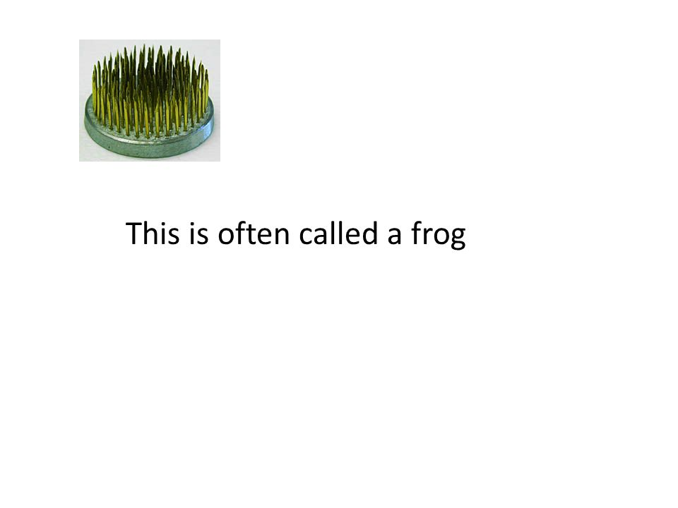 This is often called a frog