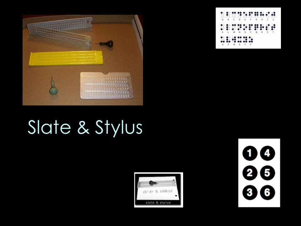Slate & Stylus