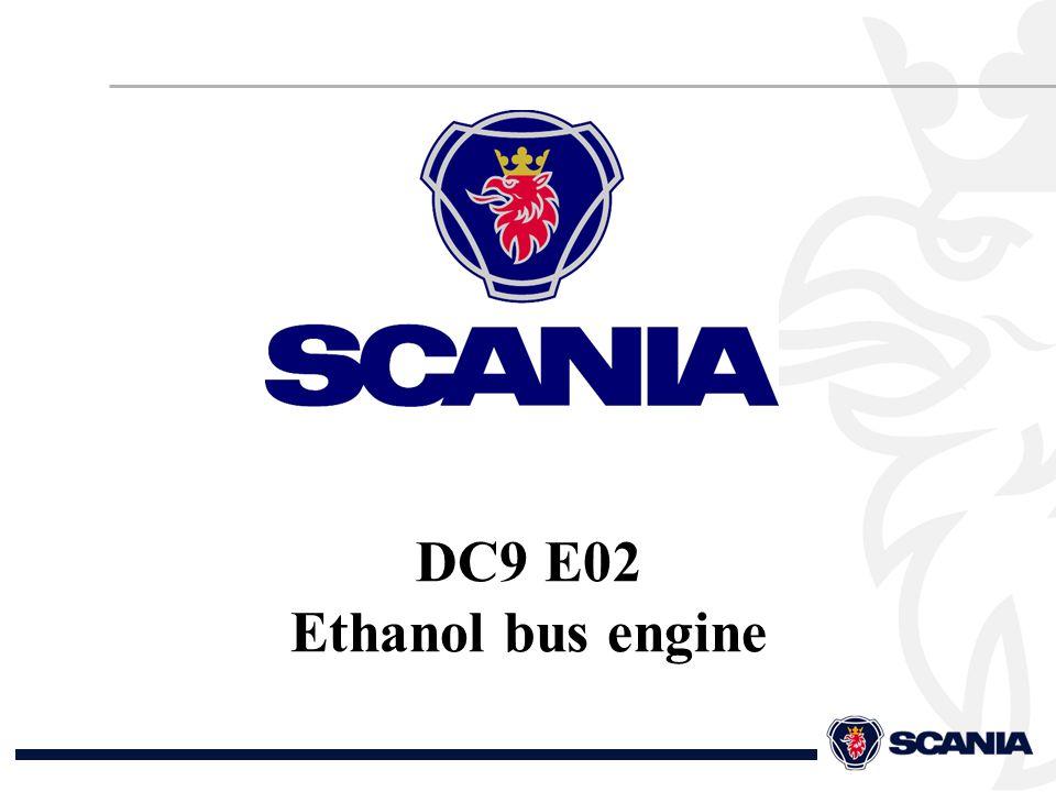 DC9 E02 Ethanol bus engine