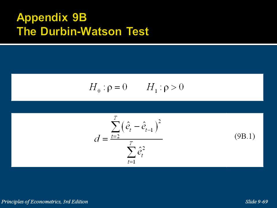 Slide 9-69 Principles of Econometrics, 3rd Edition (9B.1)