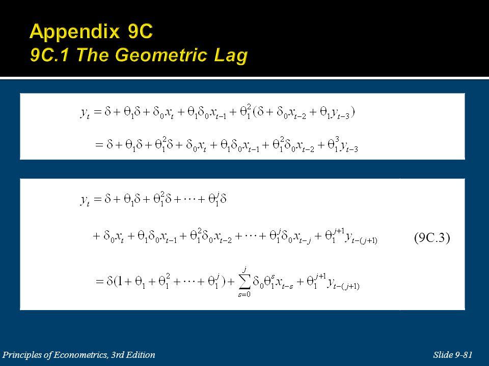 Slide 9-81 Principles of Econometrics, 3rd Edition (9C.3)