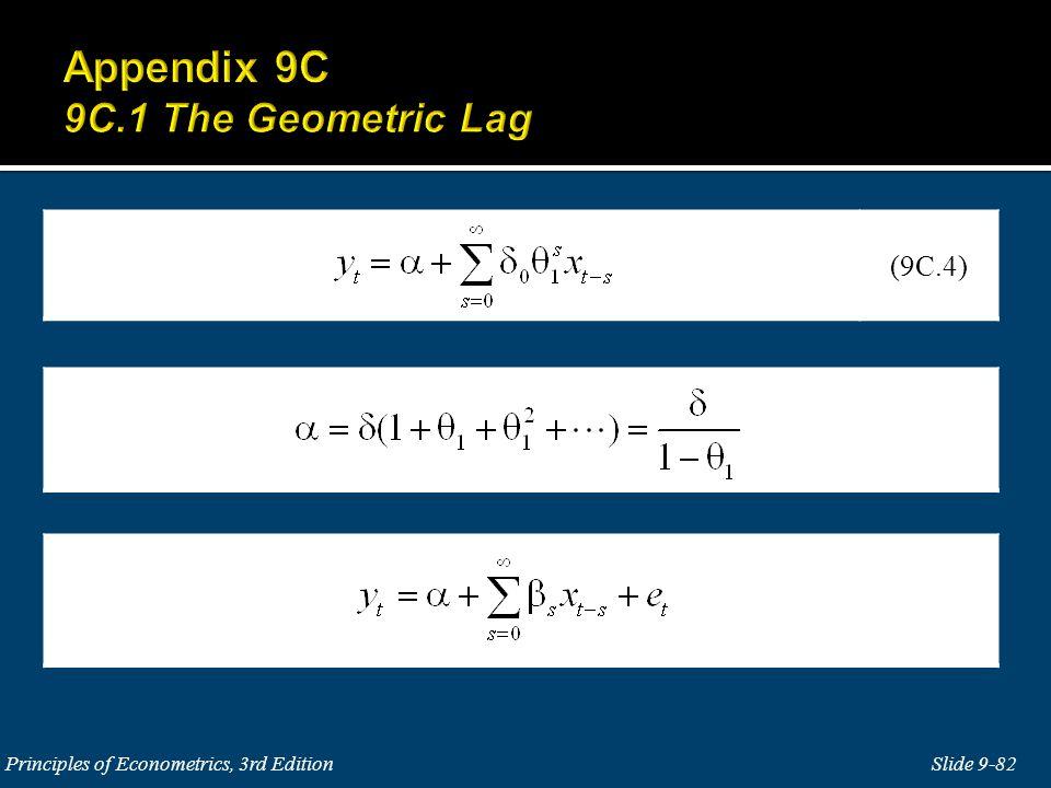 Slide 9-82 Principles of Econometrics, 3rd Edition (9C.4)