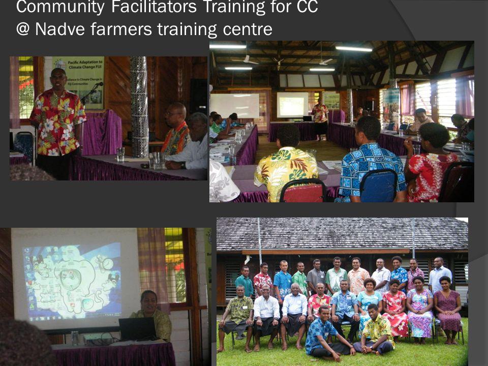 Community Facilitators Training for CC @ Nadve farmers training centre