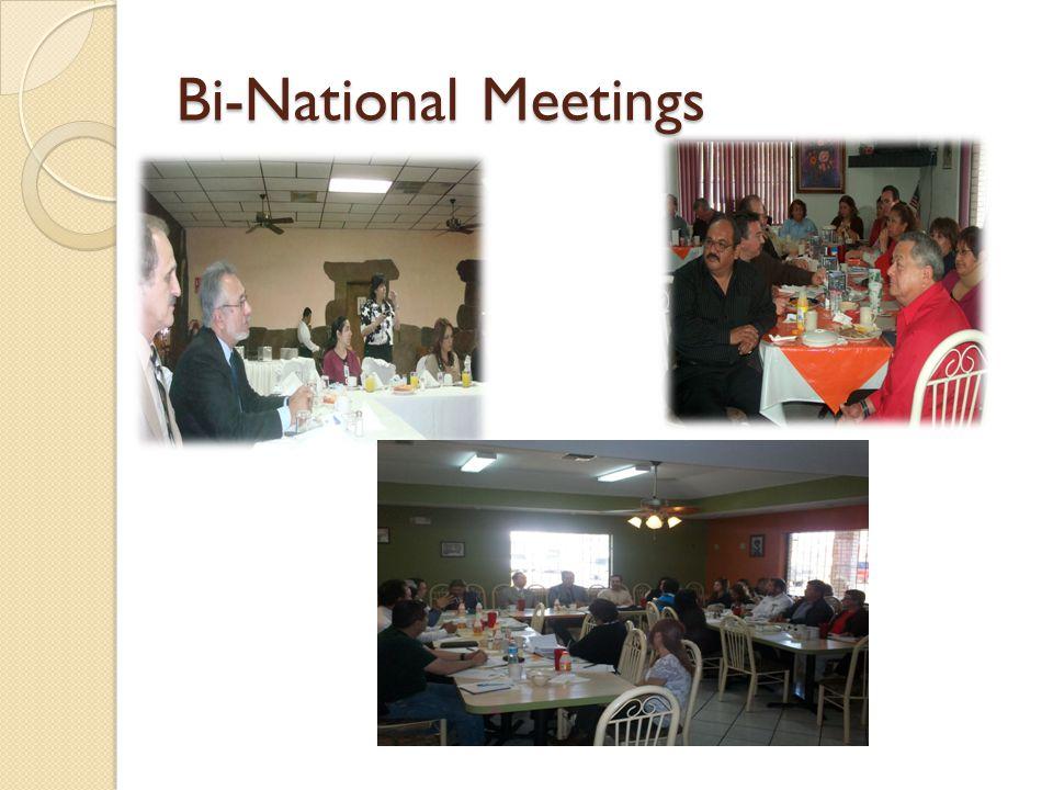Bi-National Meetings