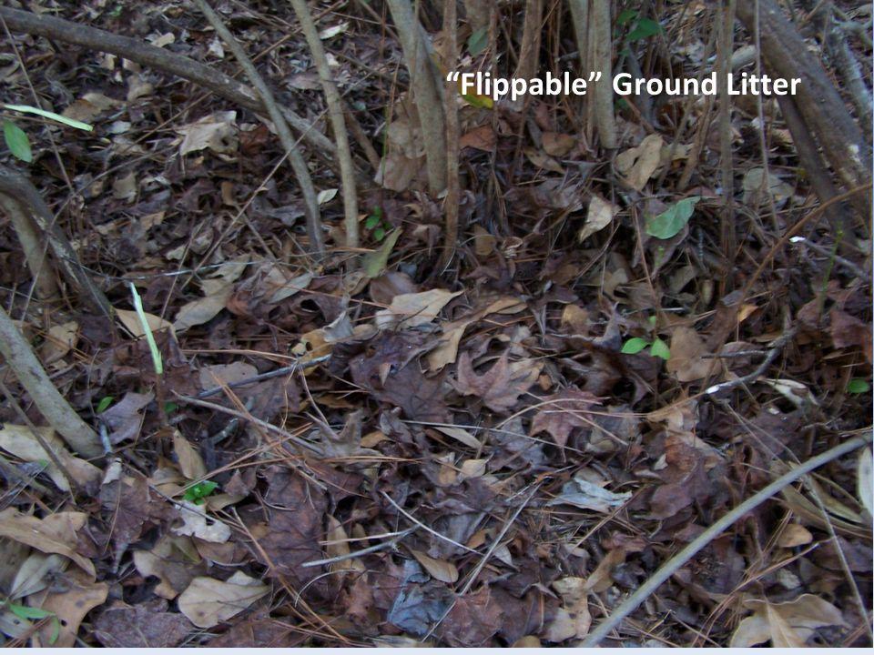 Flippable Ground Litter