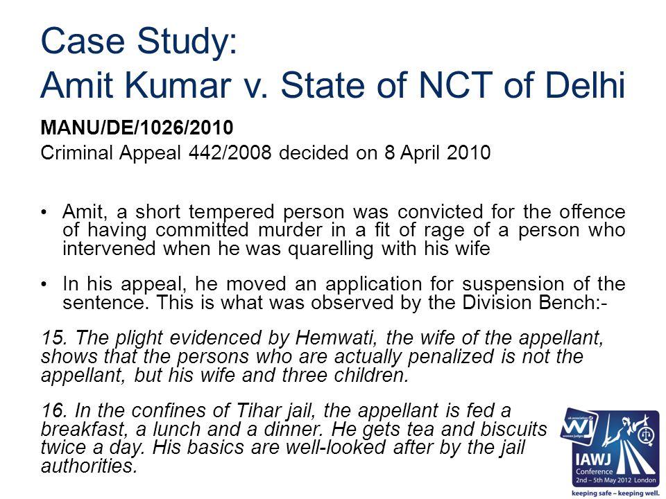 Case Study: Amit Kumar v.
