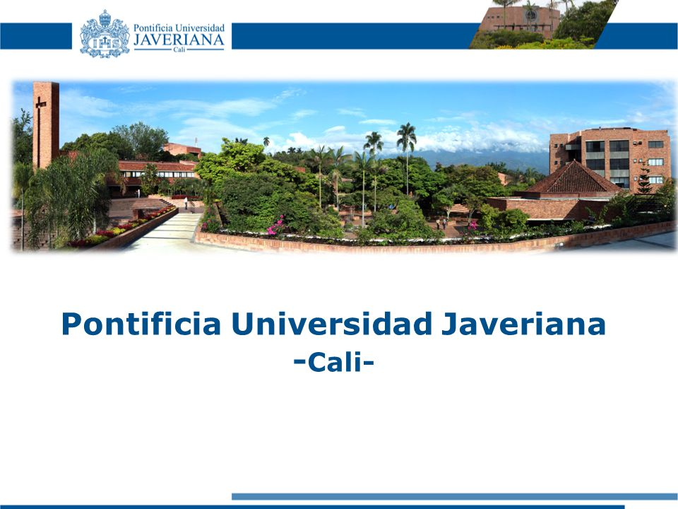 Pontificia Universidad Javeriana - Cali-