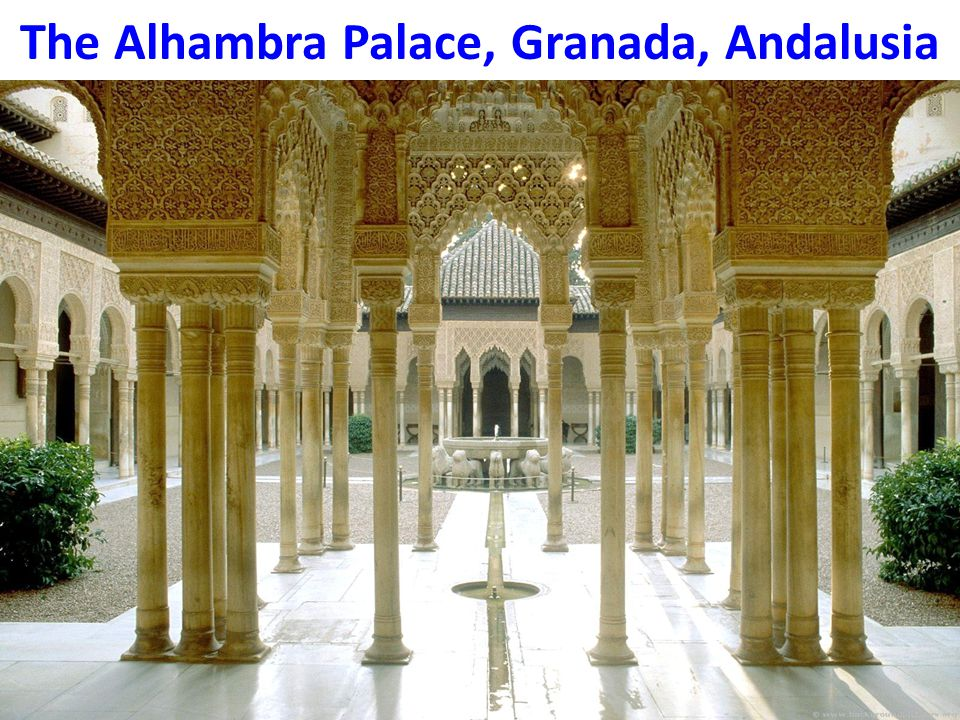The Alhambra Palace, Granada, Andalusia