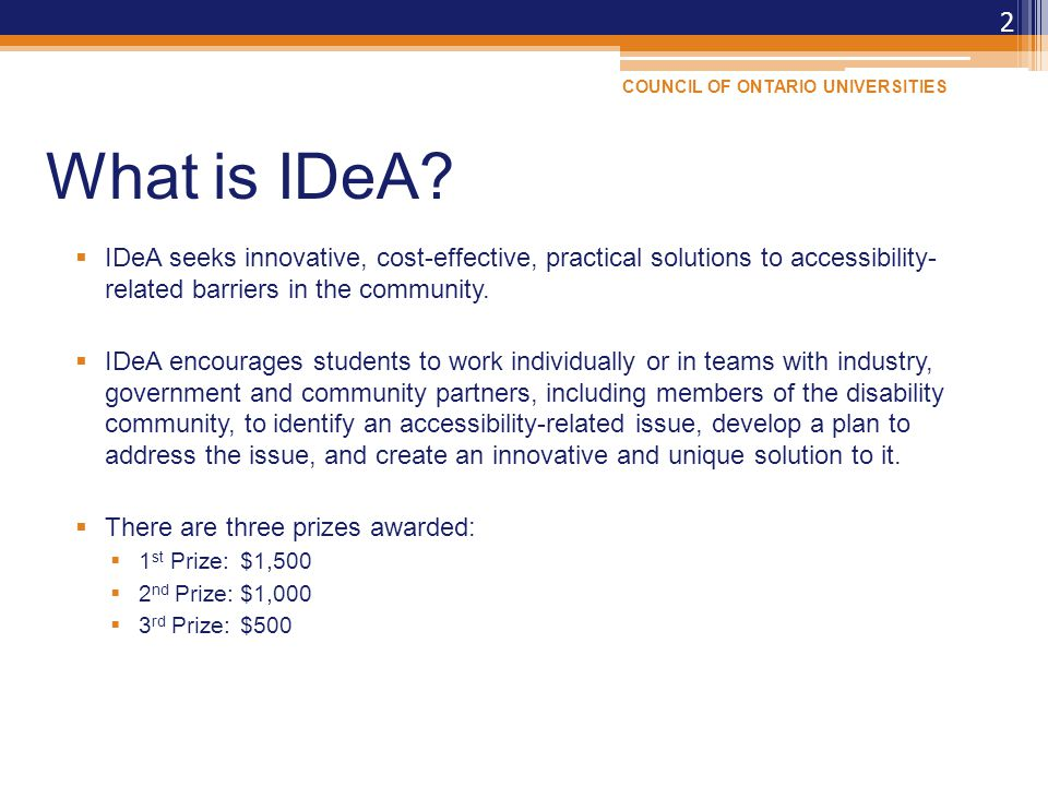 What is IDeA.