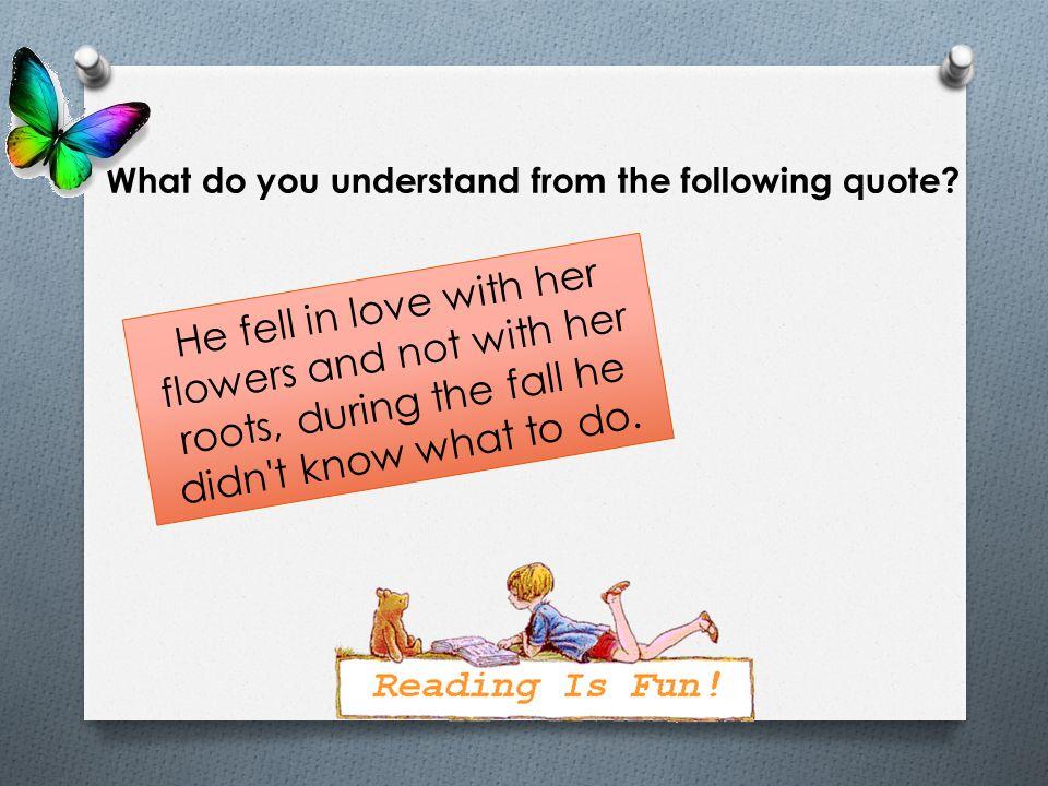 Read the sentences