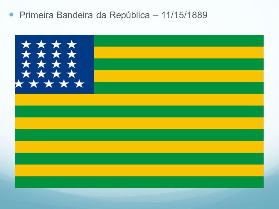 Primeira Bandeira da República – 11/15/1889