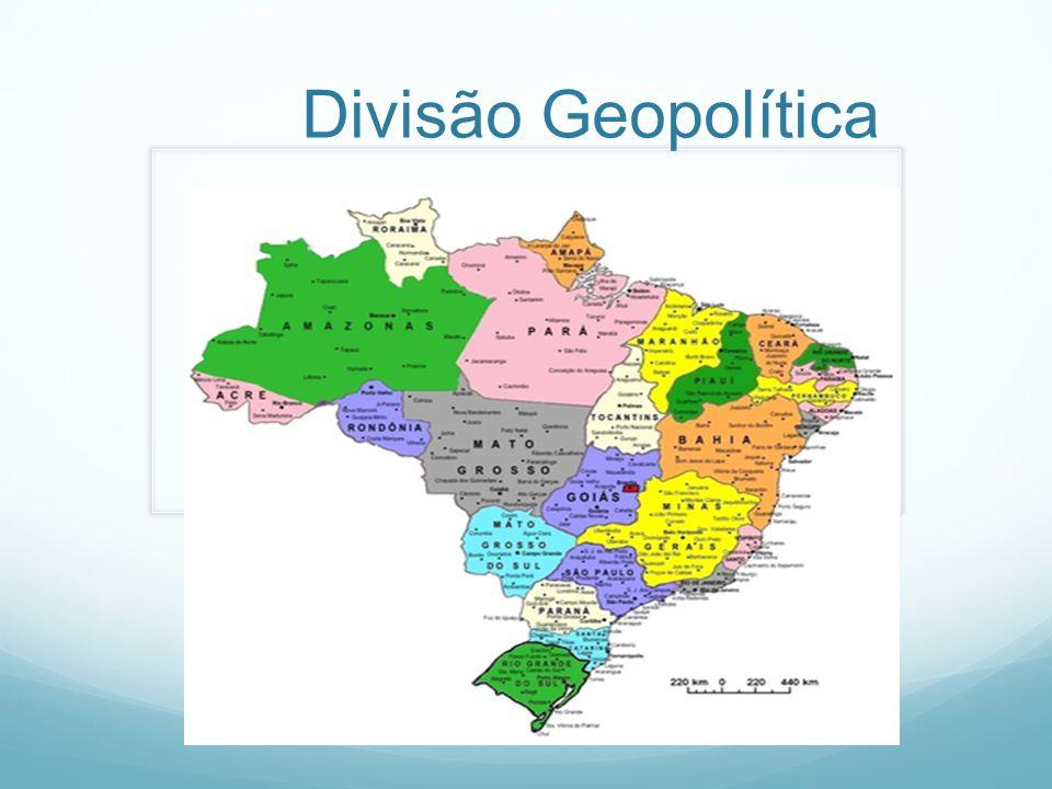 Divisão Geopolítica