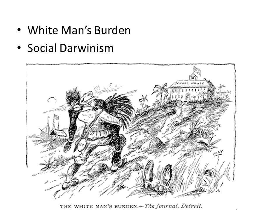 White Man's Burden Social Darwinism