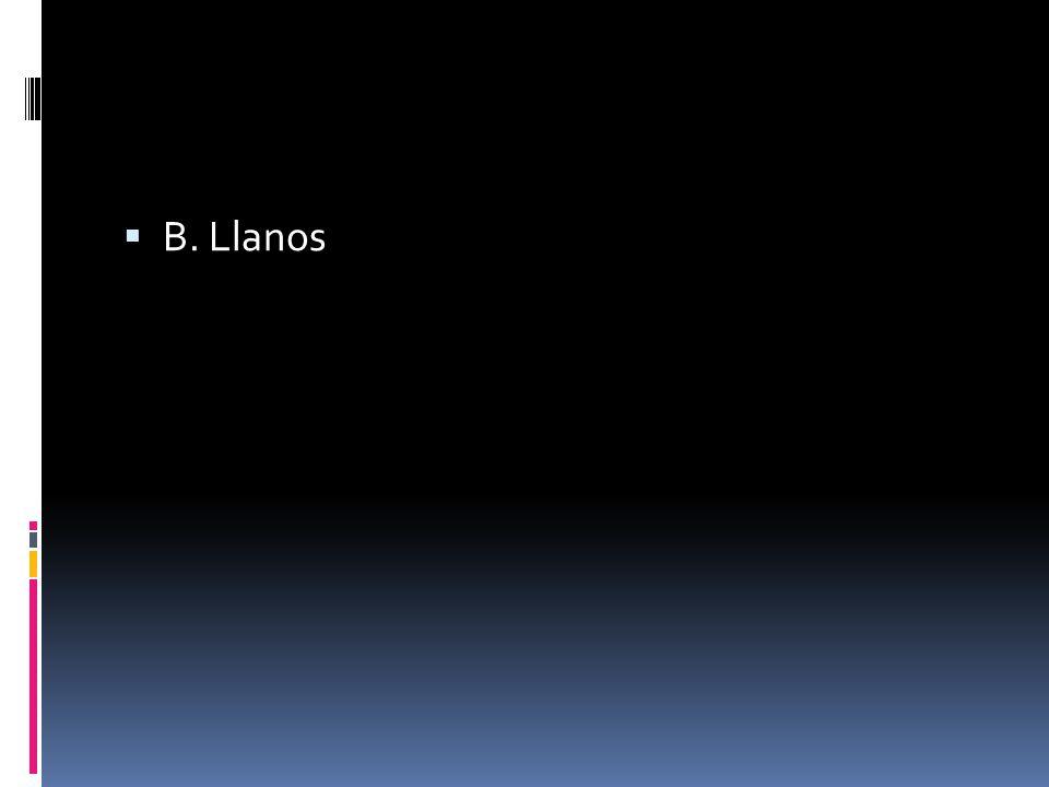  B. Llanos