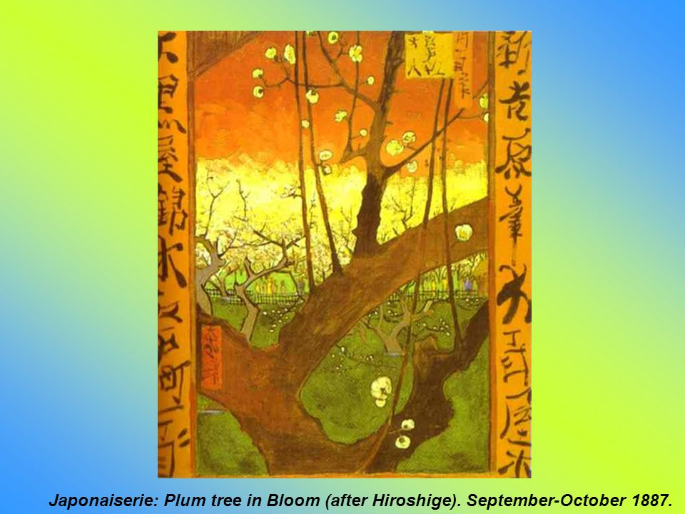 Japonaiserie: Bridge in the Rain (after Hiroshige). September-October 1887.
