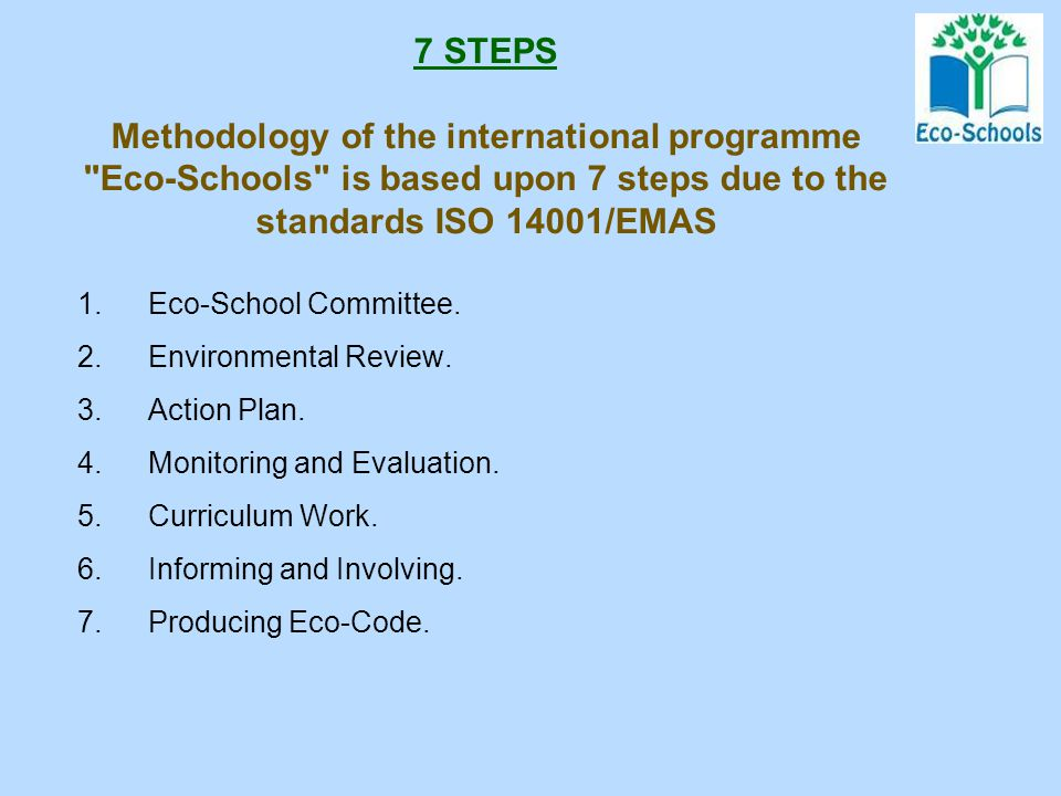 "In 2012 the Branch joined the Programme ""Eco-Schools"" for performing scientific and methodical research as well as actions in ecology The beginning"
