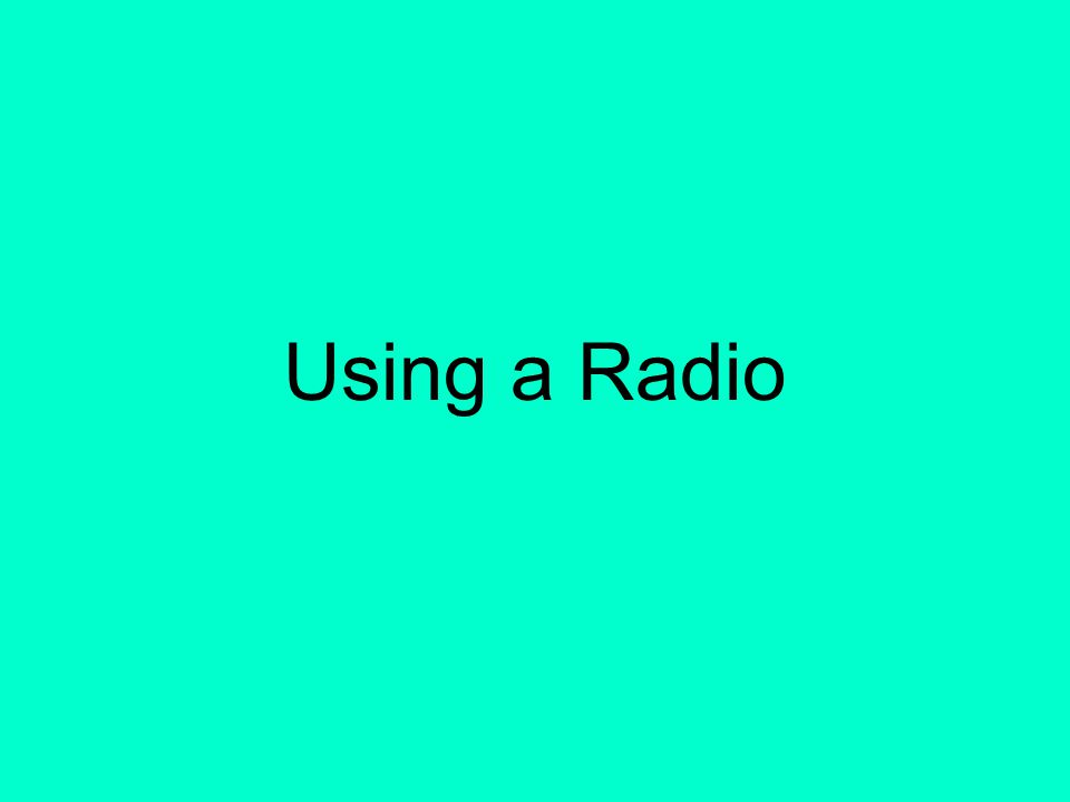 41 Transmitter Power Radio operators should use the minimum power required for satisfactory operation. In particular, HF stations are limited to the m