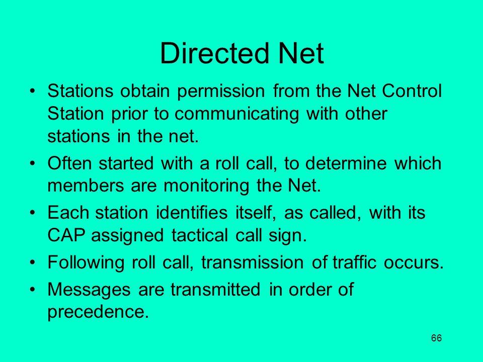 Communication Nets