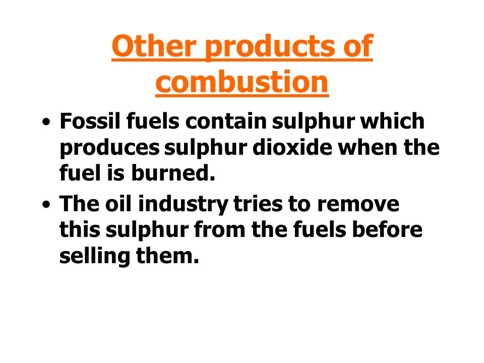 Incomplete Combustion When fuels burn in a limited supply of air then incomplete combustion takes place and the poisonous gas, carbon monoxide (CO) is produced.