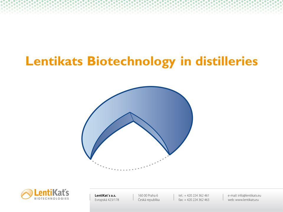 Lentikats Biotechnology in distilleries