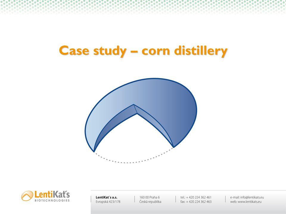 Case study – corn distillery