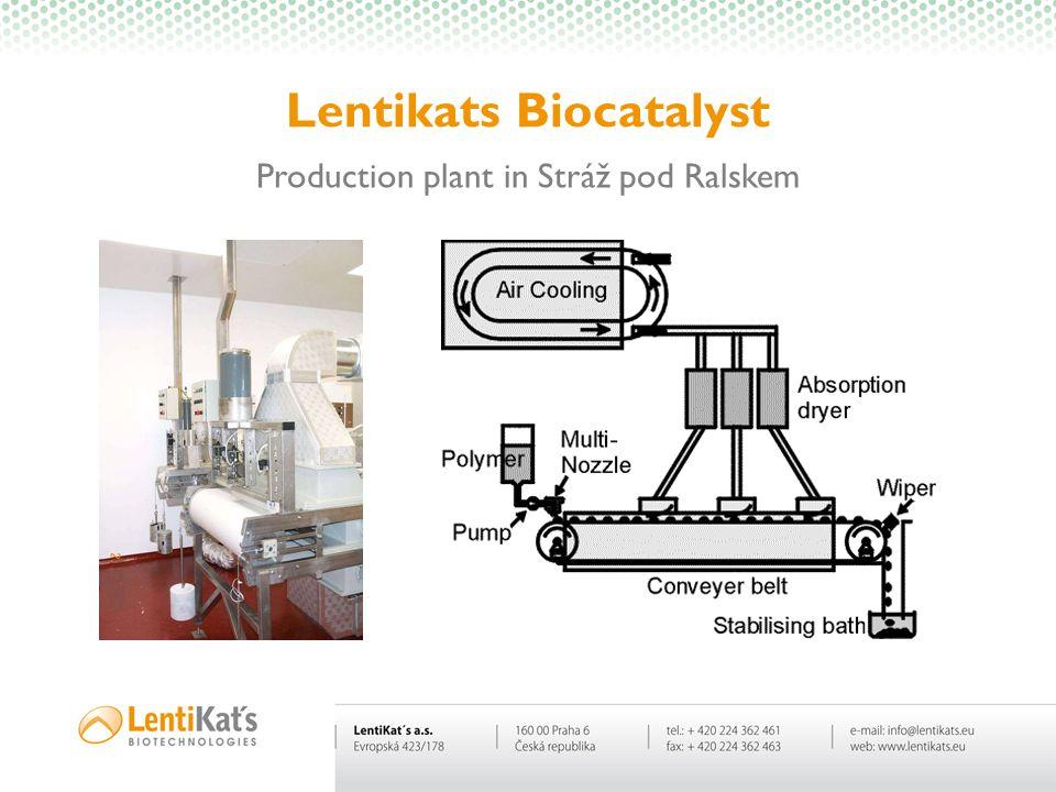 Lentikats Biocatalyst Production plant in Stráž pod Ralskem
